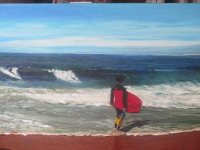 Entre olas