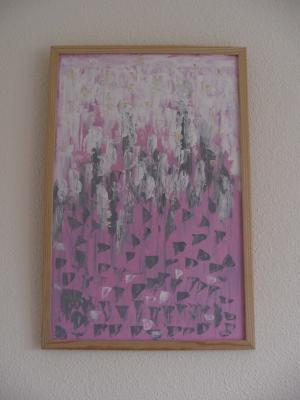 Jardin en rosa