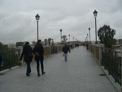 Dia nublado, puente viejo