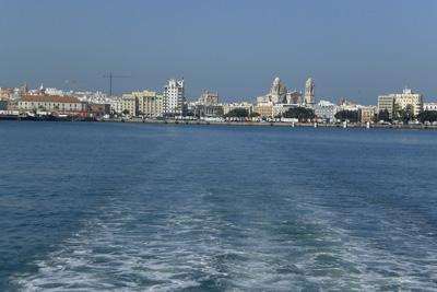 Saliendo de Cadiz
