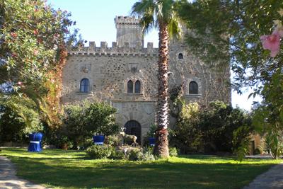 Palacio cerca de Cáceres